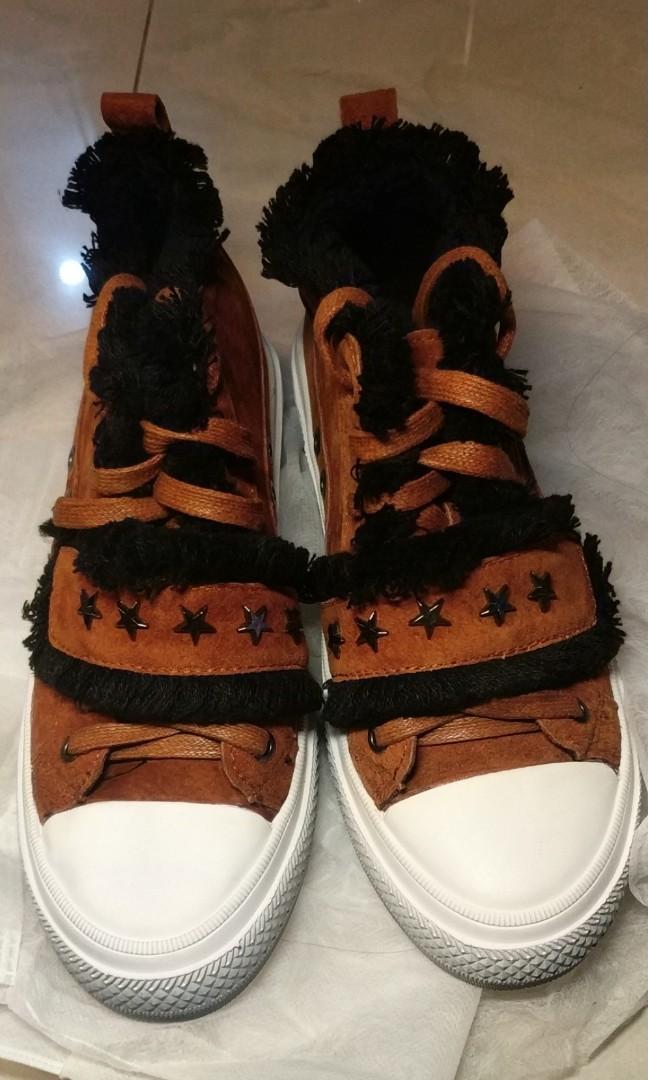 真皮型格鞋
