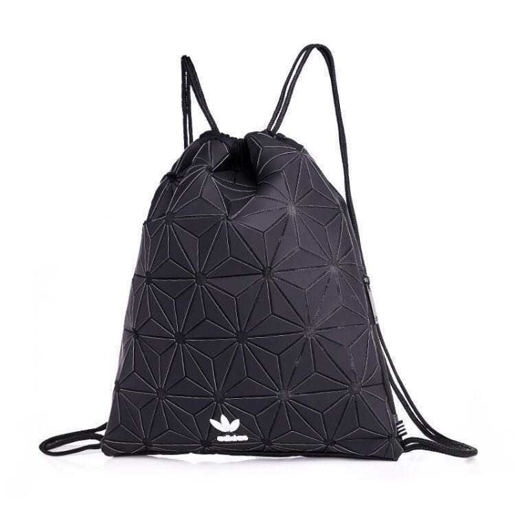 👑✨ AUTHENTIC ADIDAS x ISSEY MIYAKE   MIYAKI 3D Mesh Carrier Backpack Sport  Shoulder Gym Sack Drawstring Bucket Bag 64cdb08ee141c