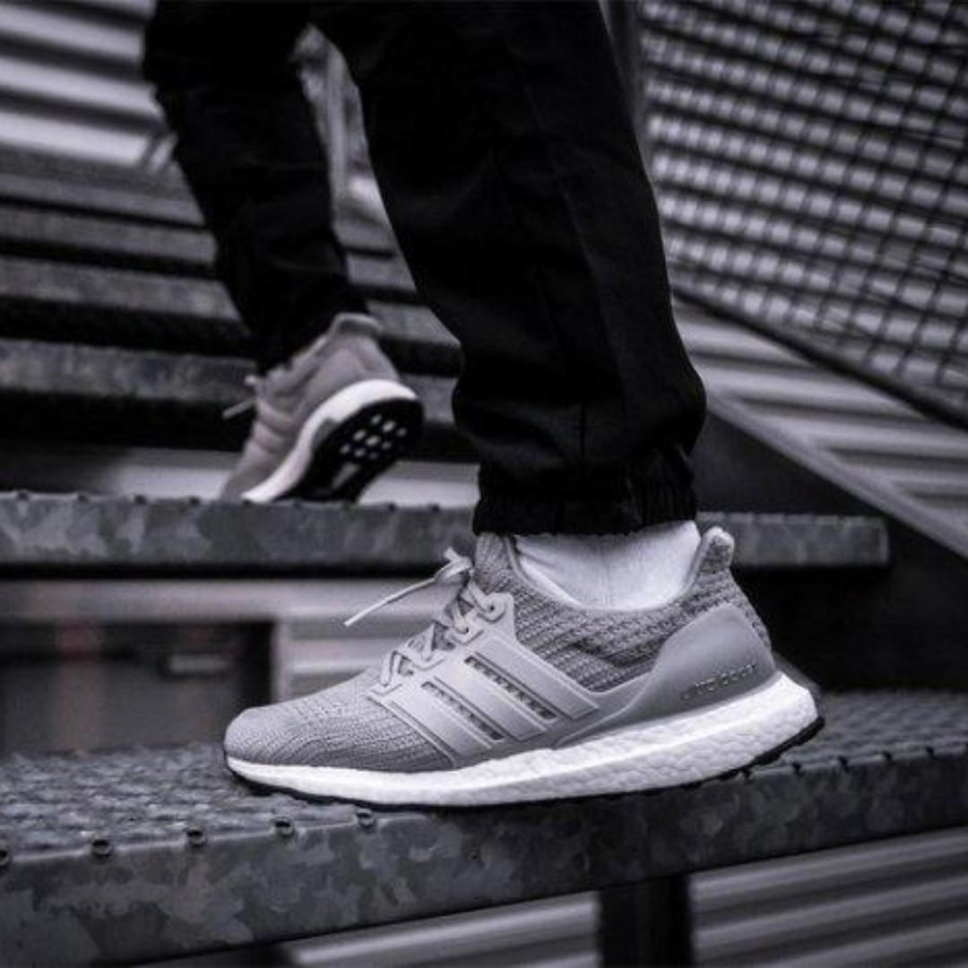 df8522608 Adidas Ultra Boost Grey 4.0