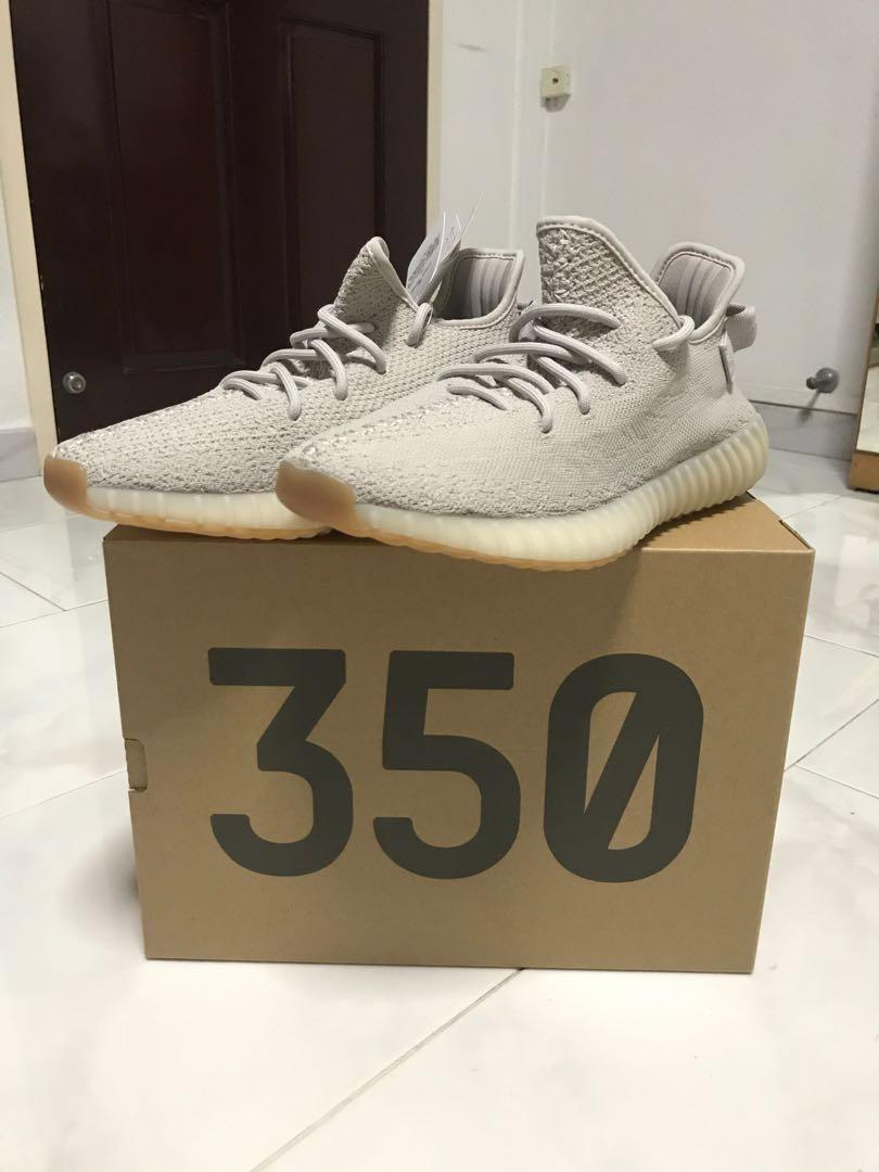"""size 40 6107f bb4ec Adidas Yeezy Boost 350 V2 """"Sesame"""", Men s Fashion, Footwear ..."""