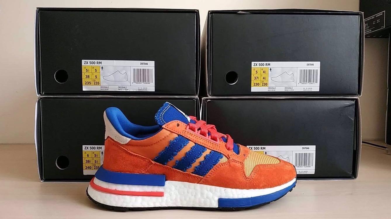 1ab45b29812e80 Adidas ZX500 RM x Dragon Ball  Goku  (BELOW RETAIL!)
