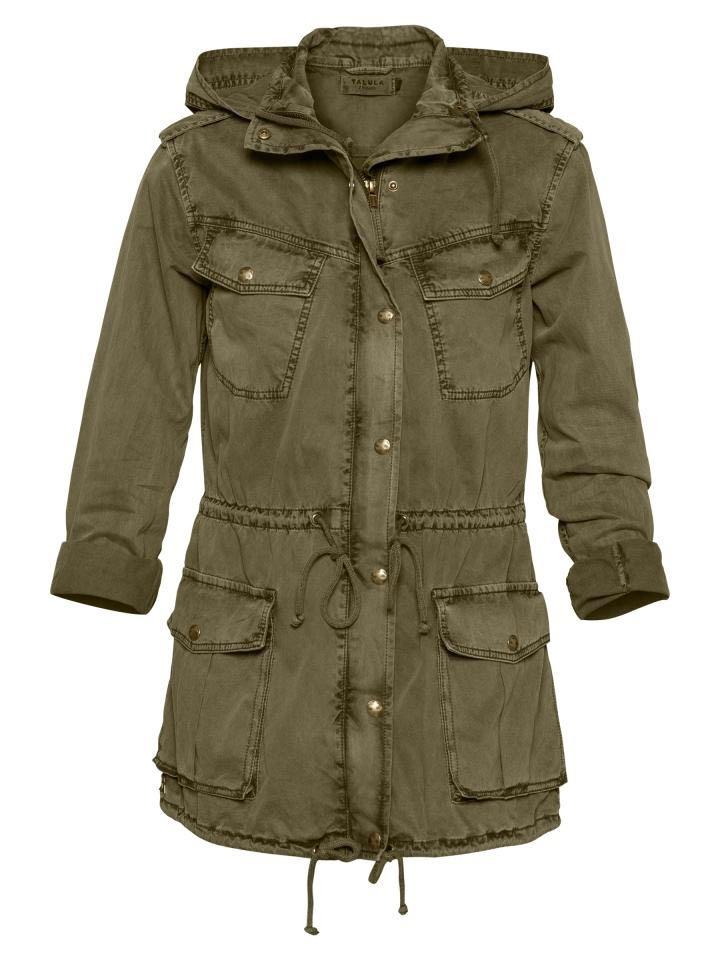 Aritzia Talula Trooper Army Jacket