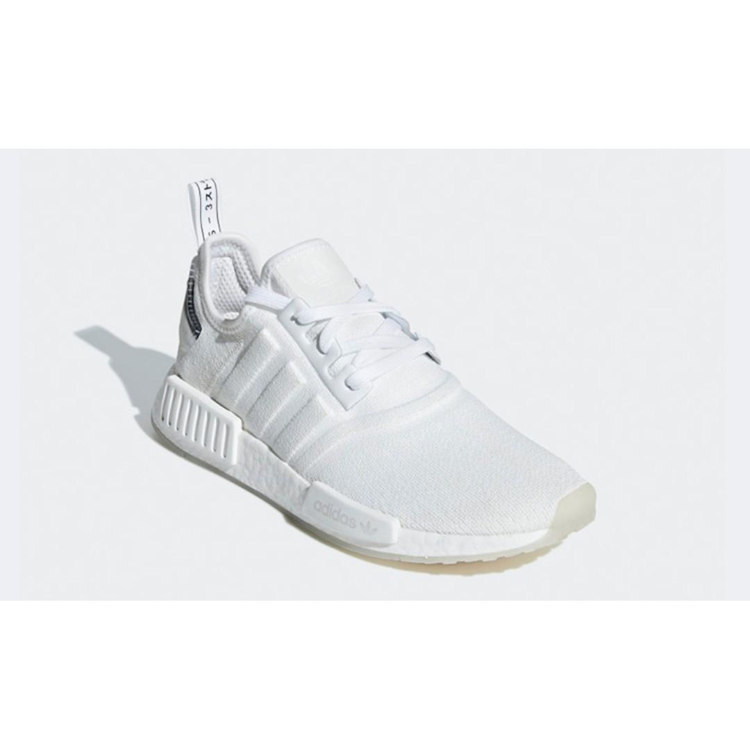 670981278 Authentic Adidas NMD R1 Triple White   Black