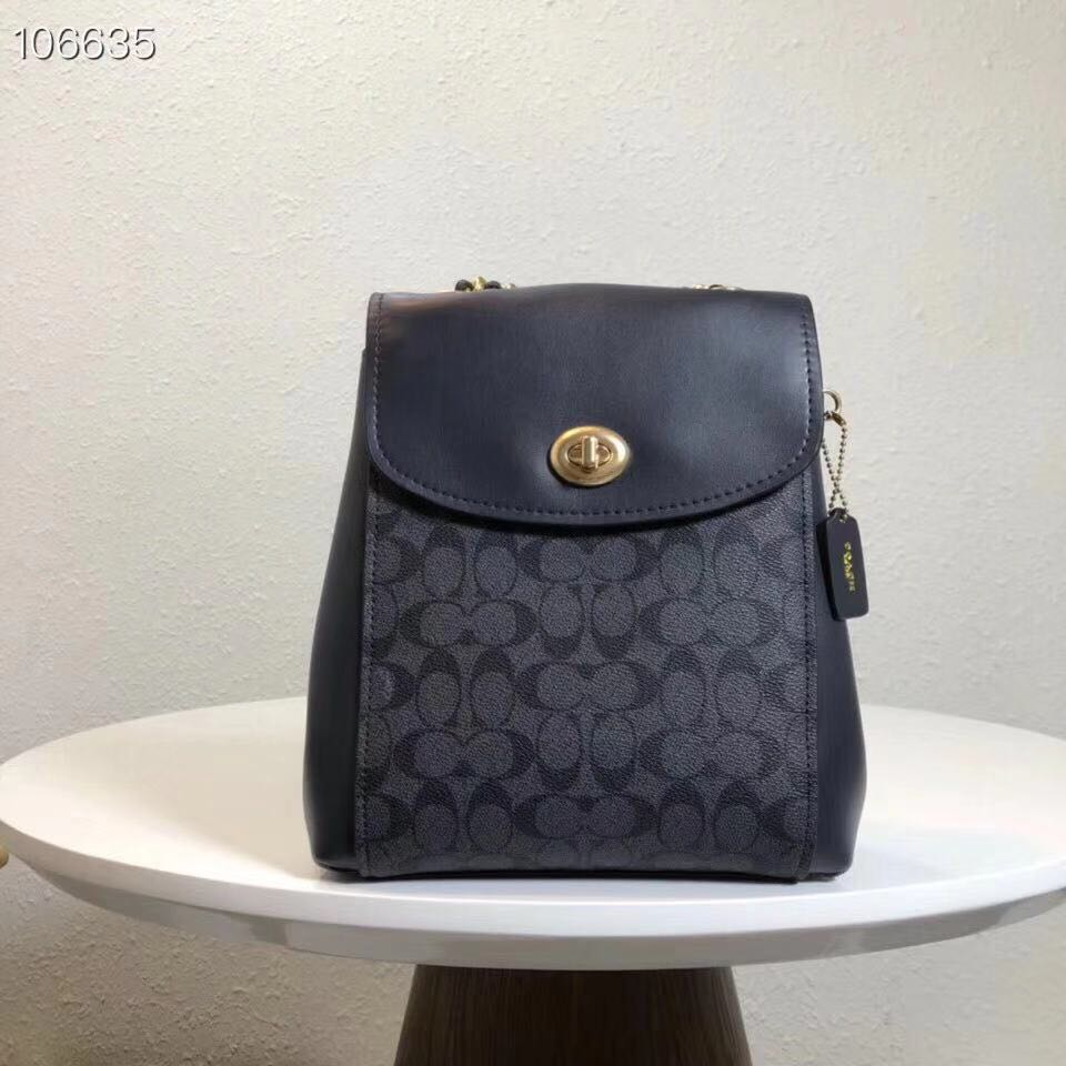 2134eb305fd7 Authentic Coach Parker Convertible Leather Backpack