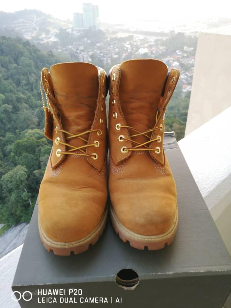 Authentic Timberland Yellow Boot