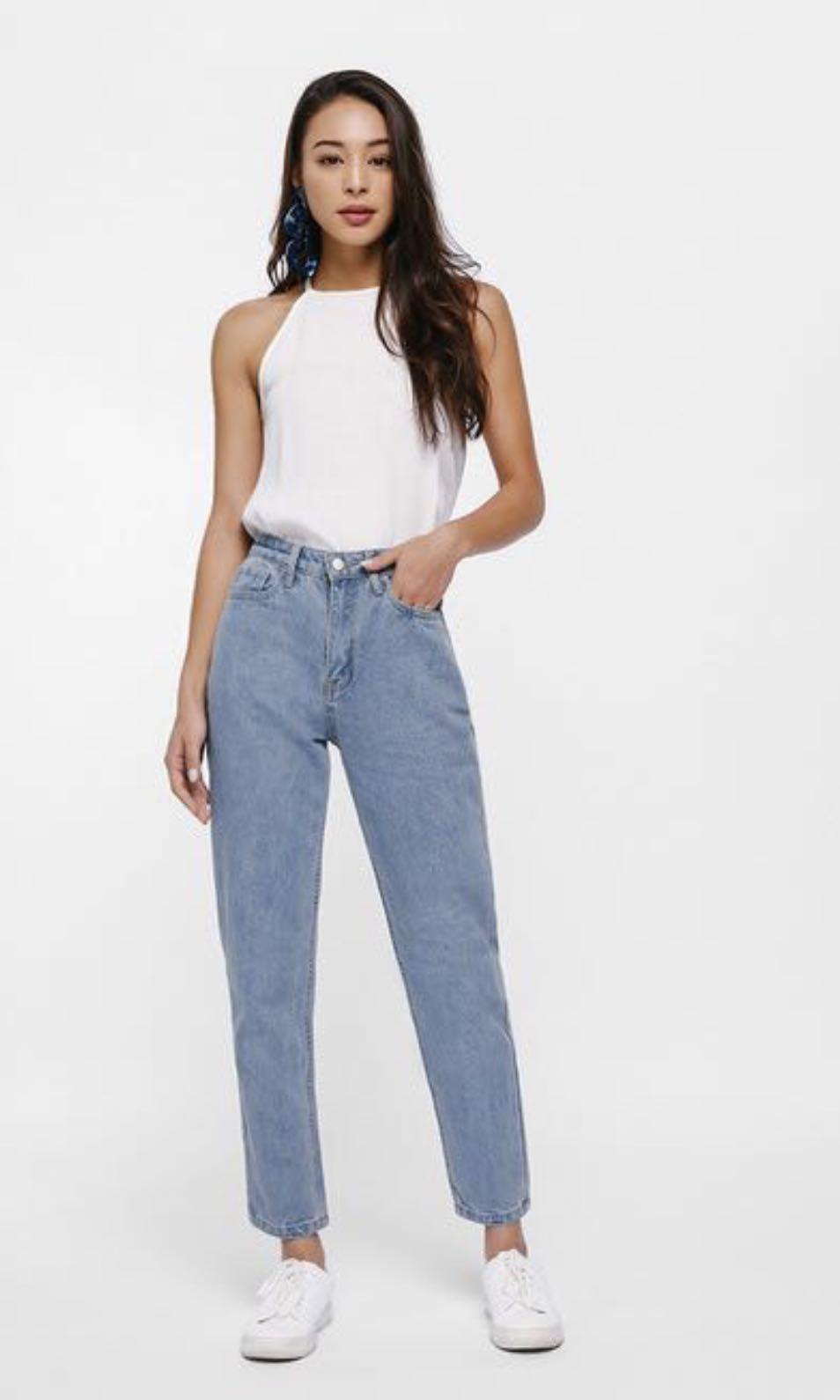 c9c1e39b615 BNWT Love bonito Martha mom jeans 24
