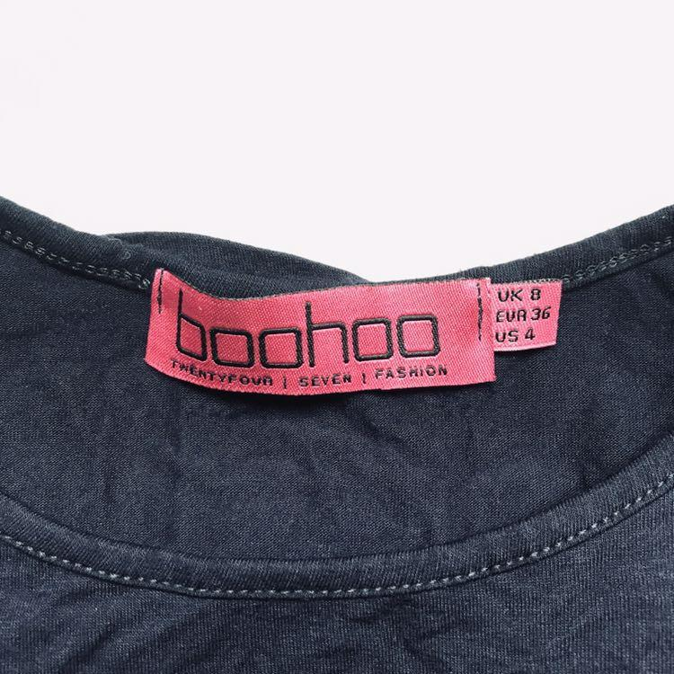 Boohoo 3/4 sleeve dress