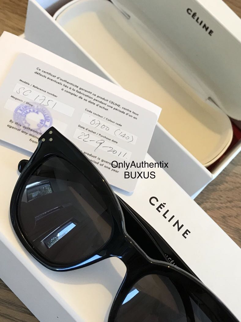 fd5b3c88148 CELINE Sunglasses - Cat Eye Black