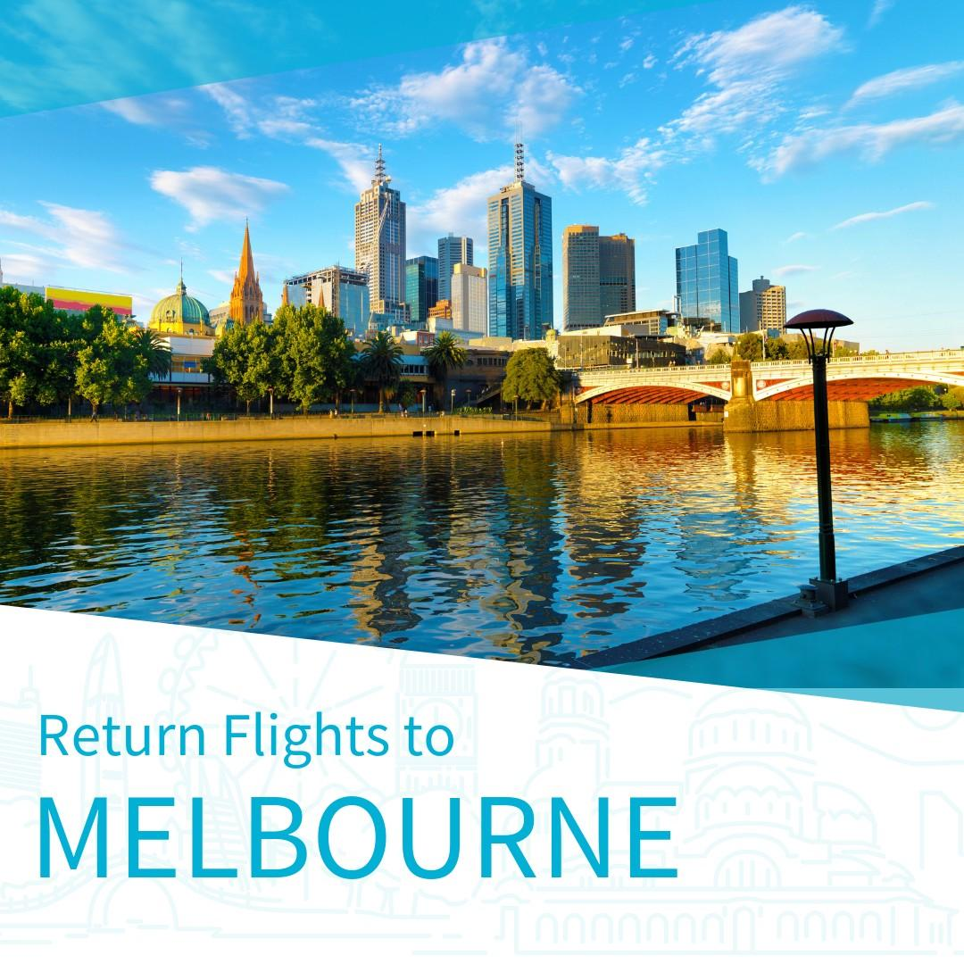 Cheap Return Flights to Melbourne