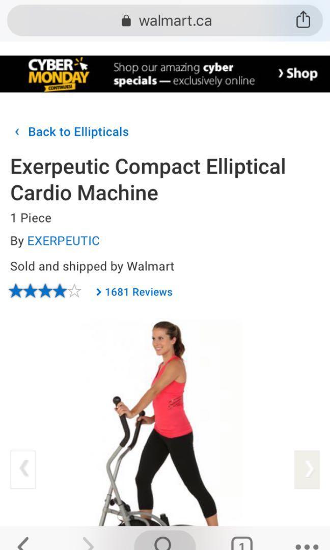 Compact elliptical