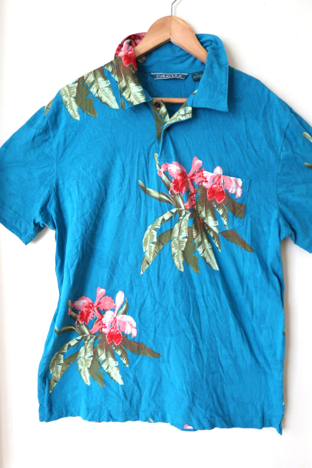 559859e7d Cubavera Polo Shirt, Men's Fashion, Clothes, Tops on Carousell
