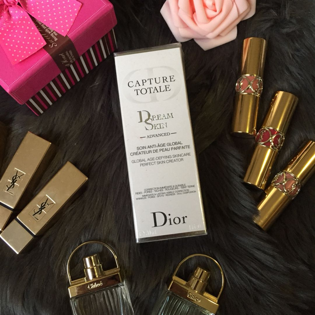 DIOR CAPTURE TOTALE DREAM SKIN GLOBAL AGE-DEFYING SKINCARE