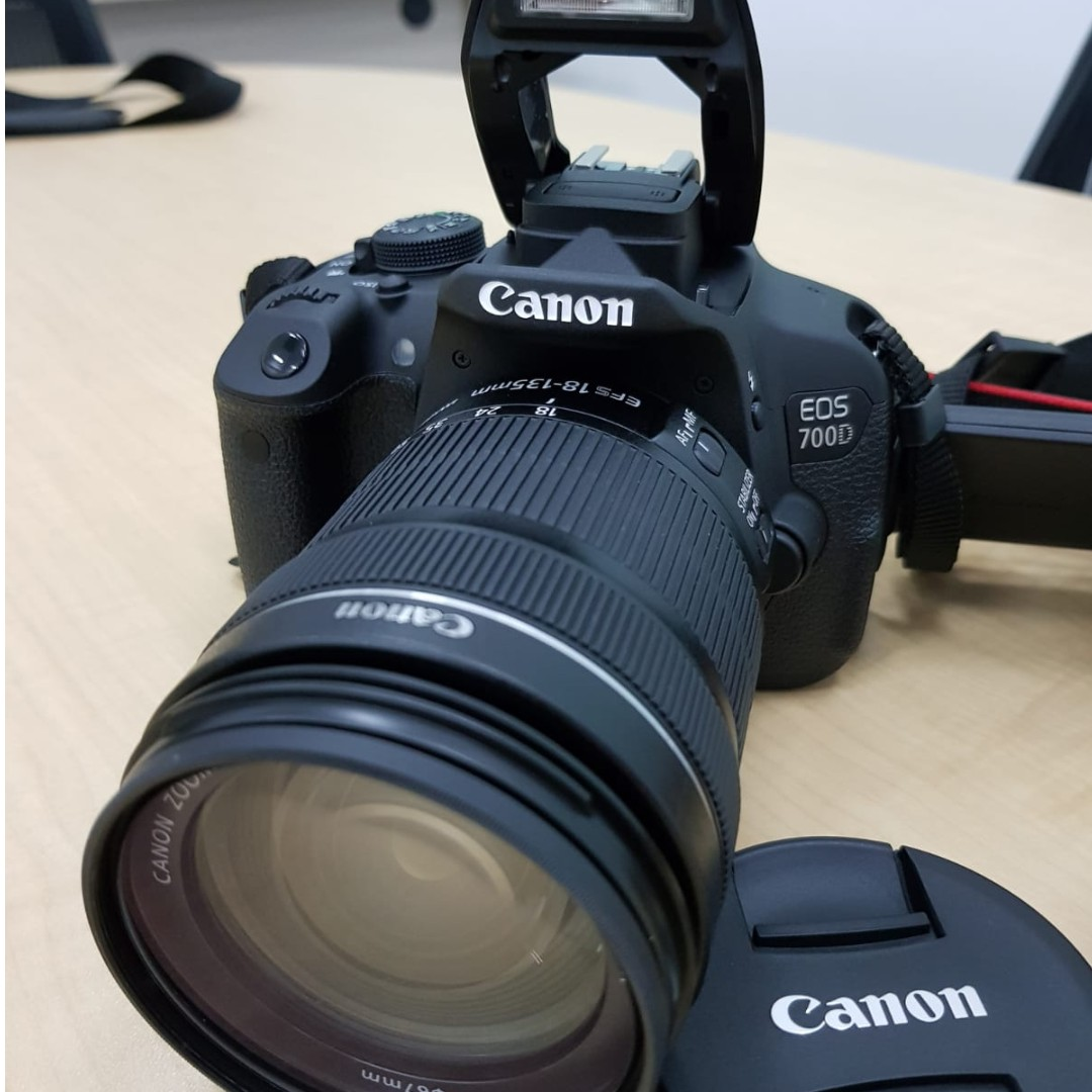 DSLR - Canon EOS Canon 700D, Everything Else on Carousell