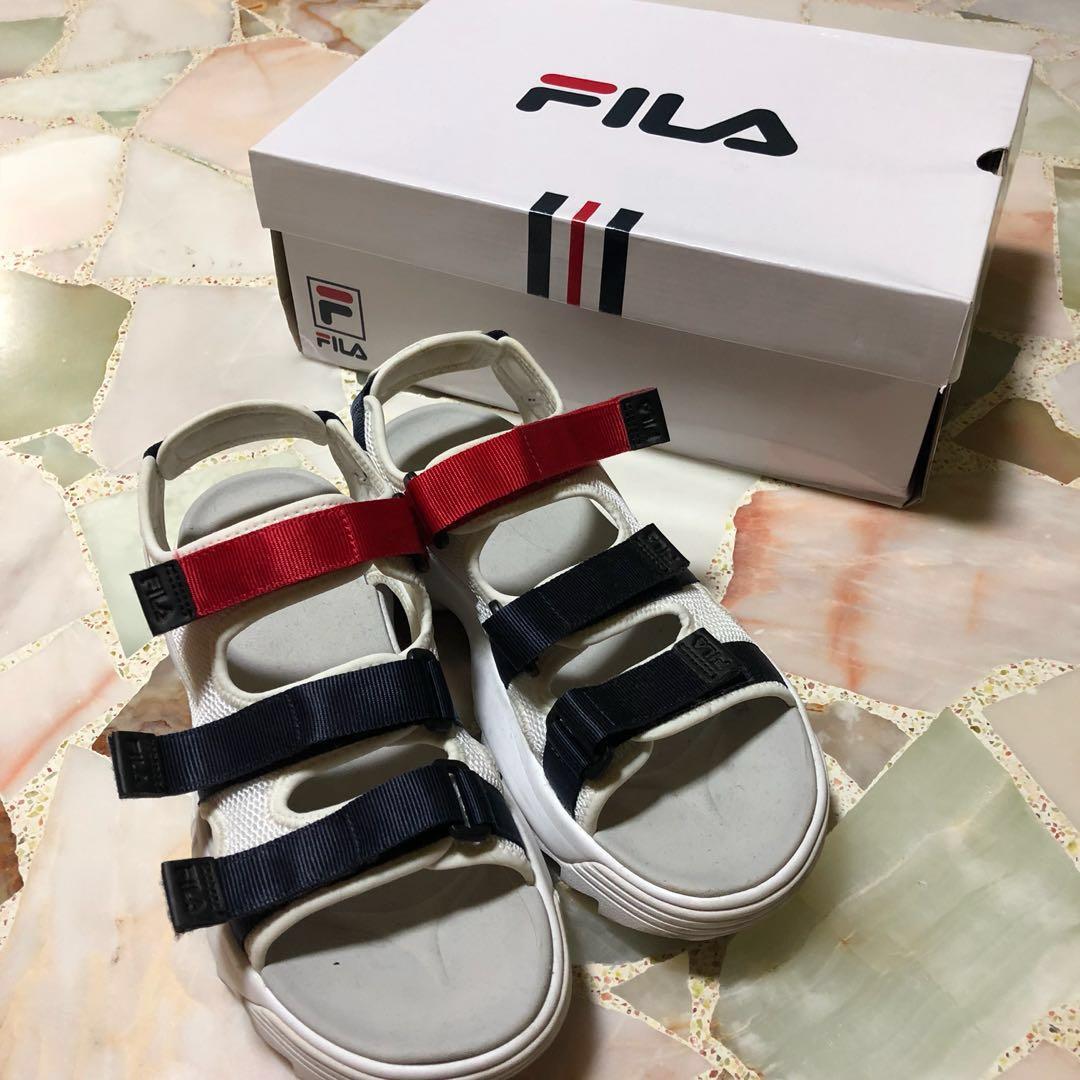 5e86ca2ae768 Fila Disruptor White Platform Sandal