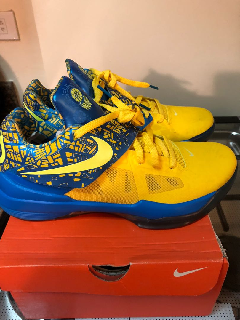 the latest e8e40 30cc5 For sale kd 4 scoring title, Men s Fashion, Footwear, Sneakers on Carousell