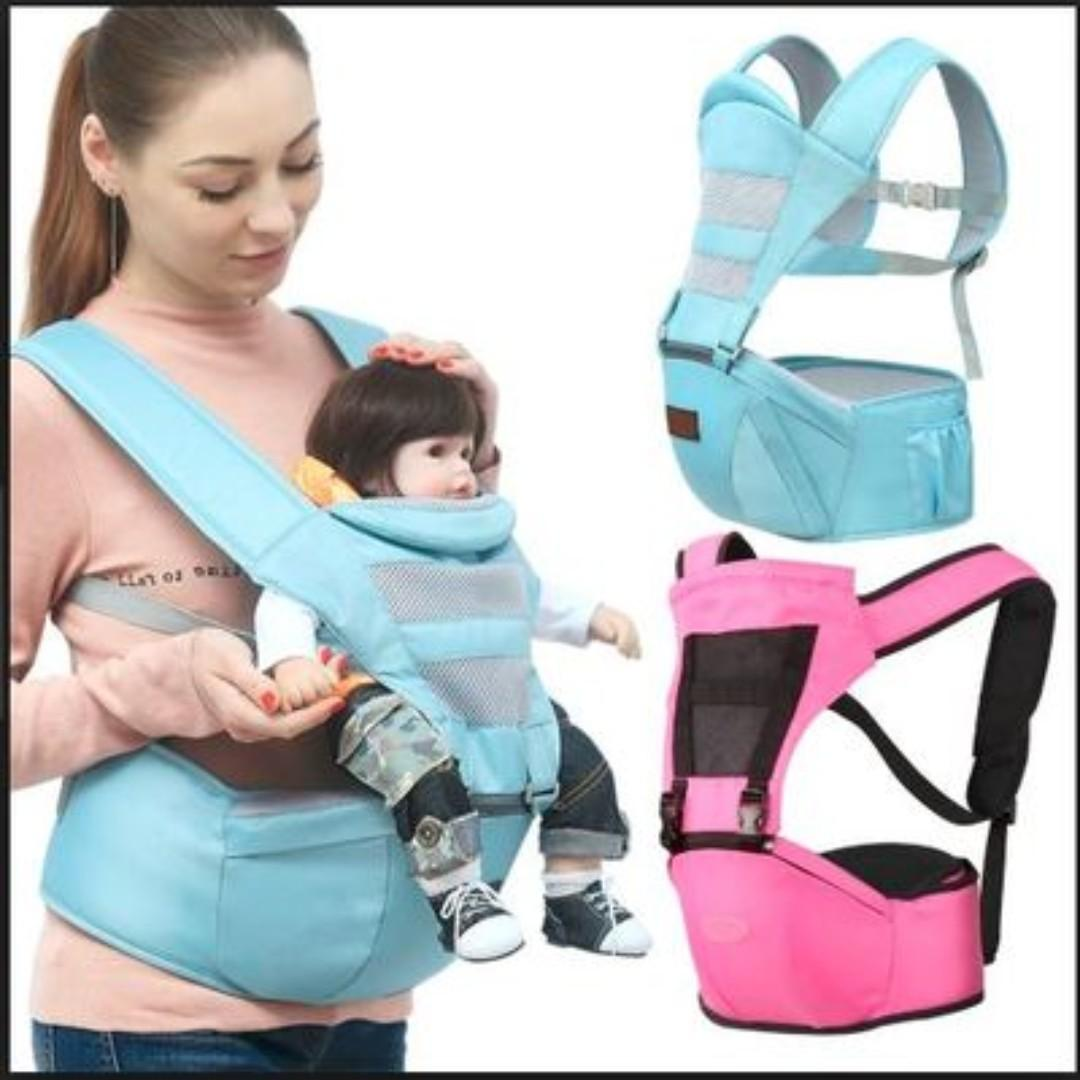 513735ec12b9 Hip Seat Baby Carrier / Baby Carrier / Breathable / With Slings ...