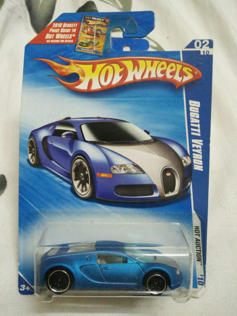 Hotwheels Bugatti Veyron Satin Blue Toys Games Diecast Toy Vehicles On Carousell