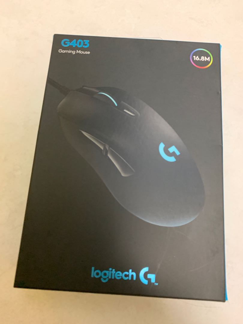 Logitech G403 Prodigy Gaming Mouse, Toys & Games, Video