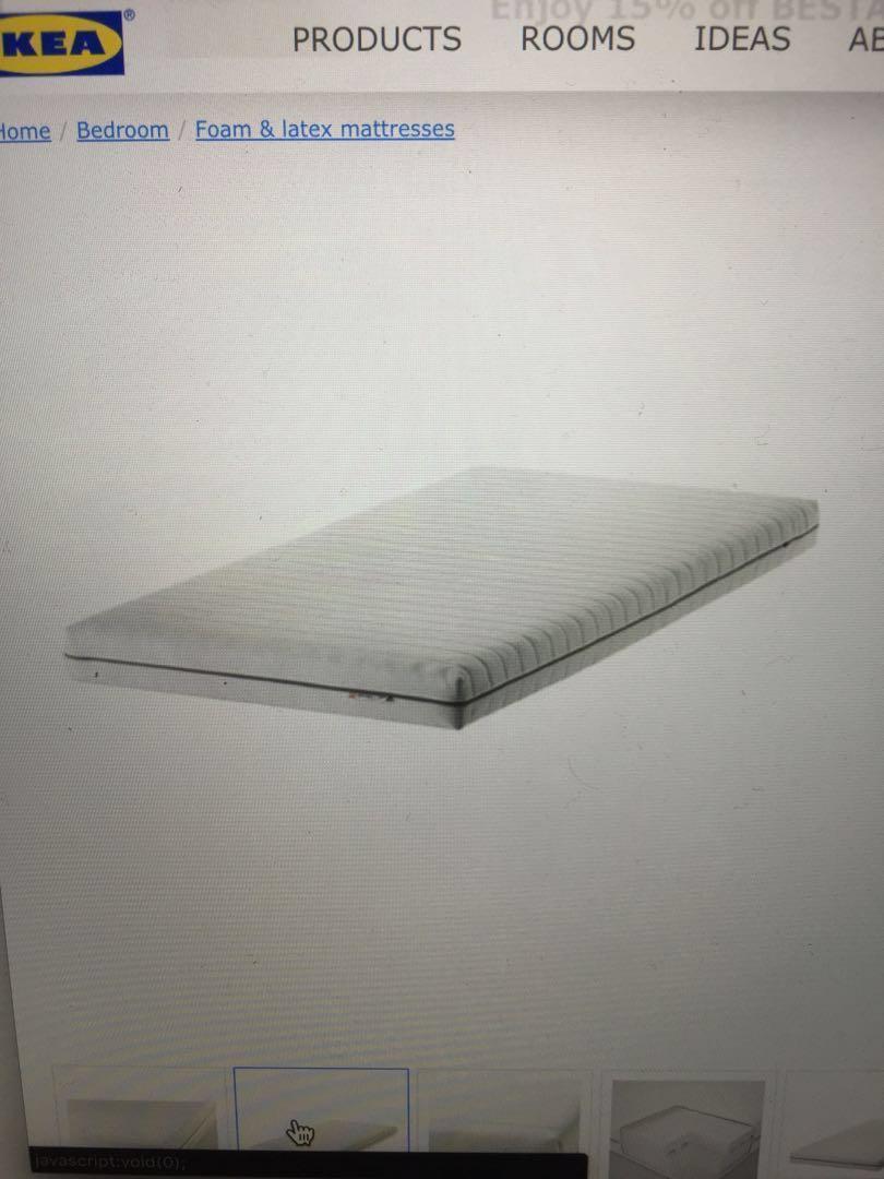 promo code 1a36f d1a97 must sell!! Ikea single Malfors foam mattress, Furniture ...