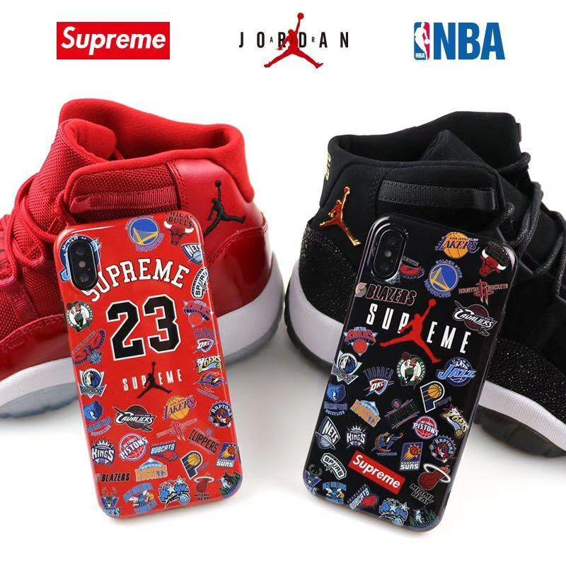 best website 96e2c 29a8b NBA Supreme X Air Jordan 1 Phone/Mobile Case/Cover, Mobile ...