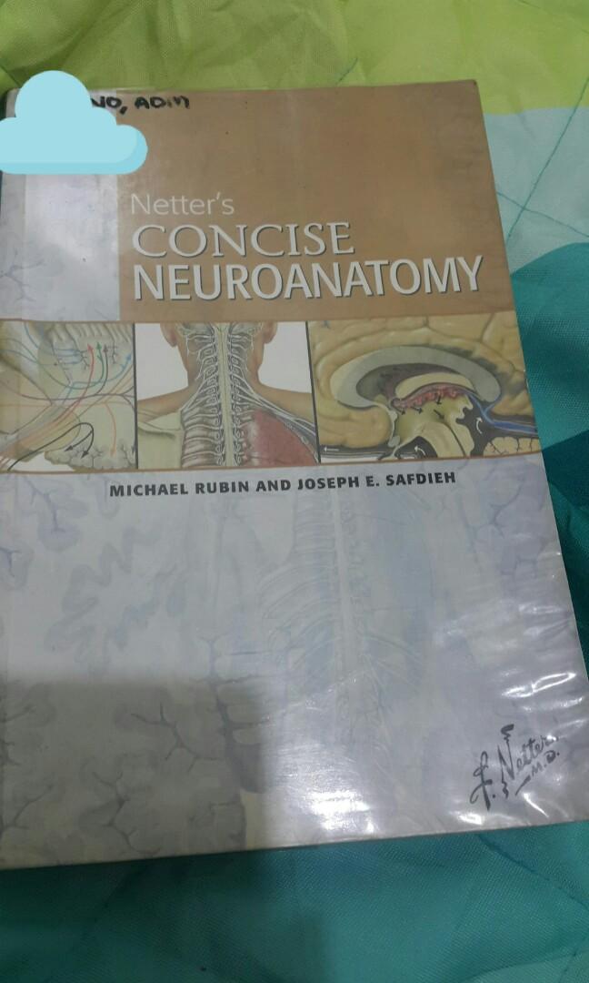 Netter S Neuroanatomy Textbooks On Carousell
