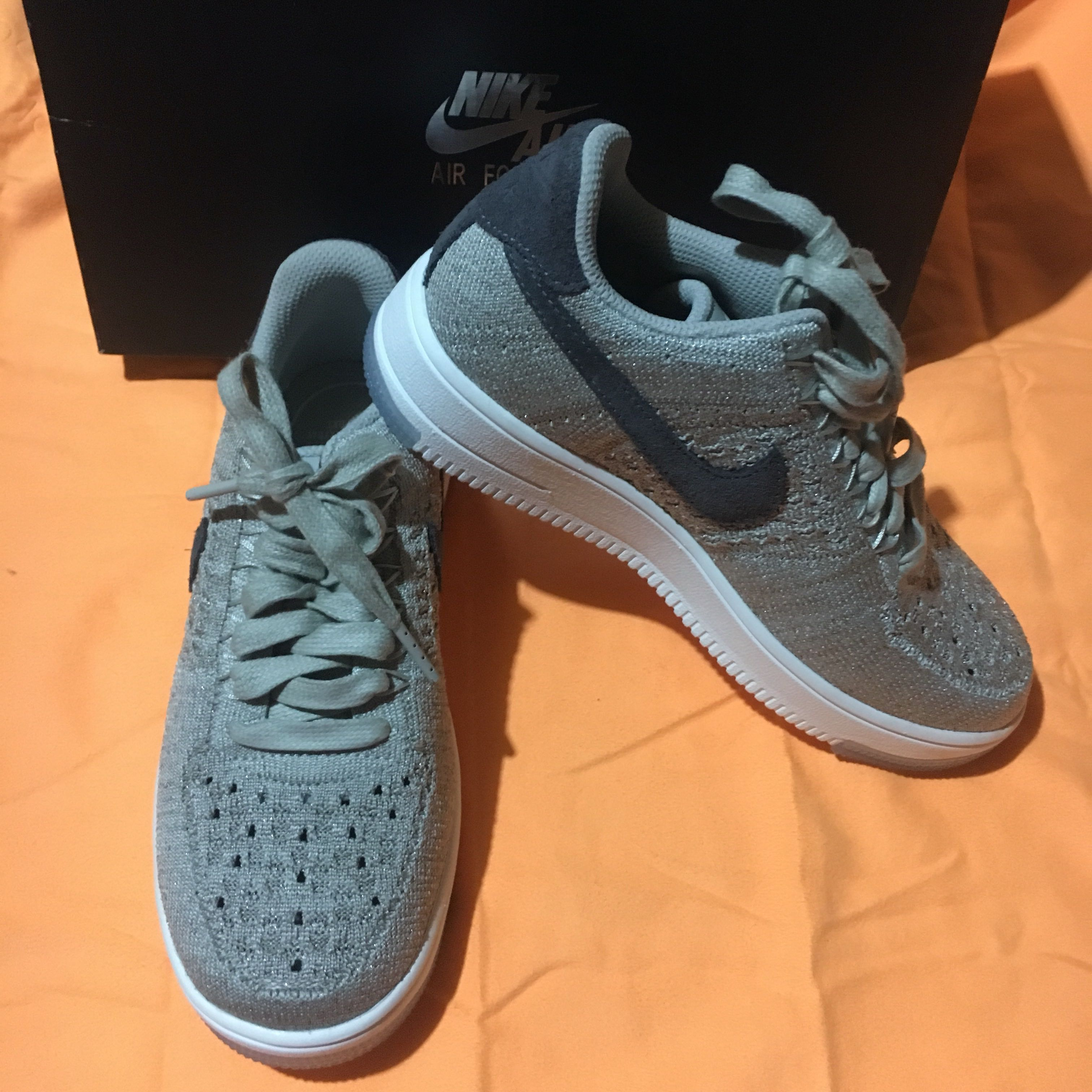 new concept 64534 bfbc8 Nike Air Force 1 Flyknit Low, Sports, Athletic  Sports Cloth