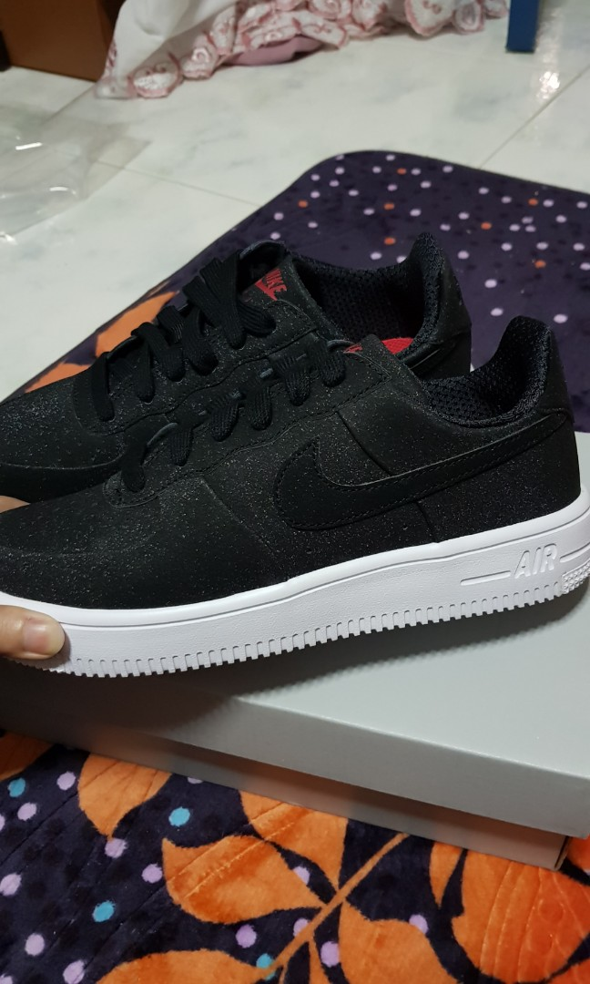 separation shoes b0488 712cc Nike Air Force 1 Black, Women s Fashion, Shoes, Sneakers on Carousell