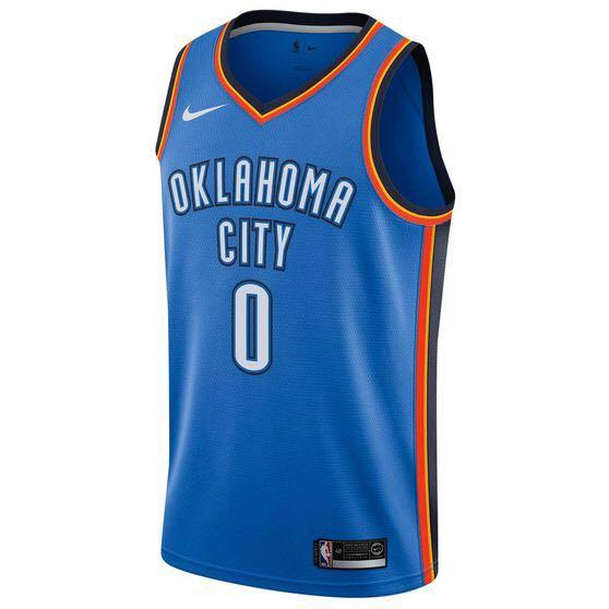 Oklahoma City Thunder Russell Westbrook jersey: SIZE M