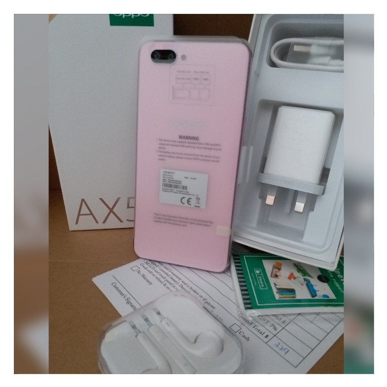 buy popular 61844 46450 OPPO AX5 with Flip Case both BRAND NEW