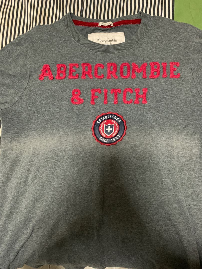 7dde65d62765 Original Abercrombie and Fitch Muscle Fit Tshirt