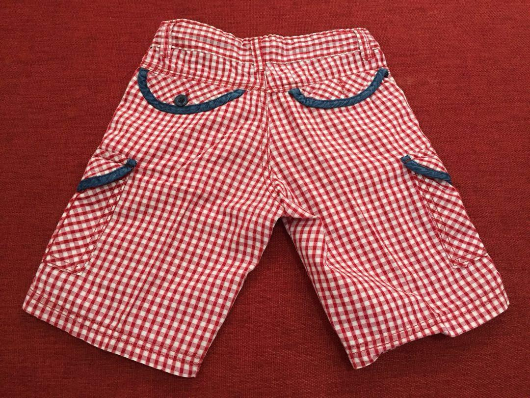 Osella red shorts for boy
