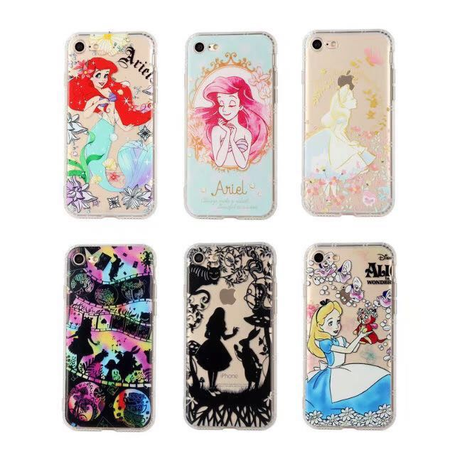 lowest price 93be3 3a6ec PO: iphone Alice in wonderland/mermaid Ariel phone cover