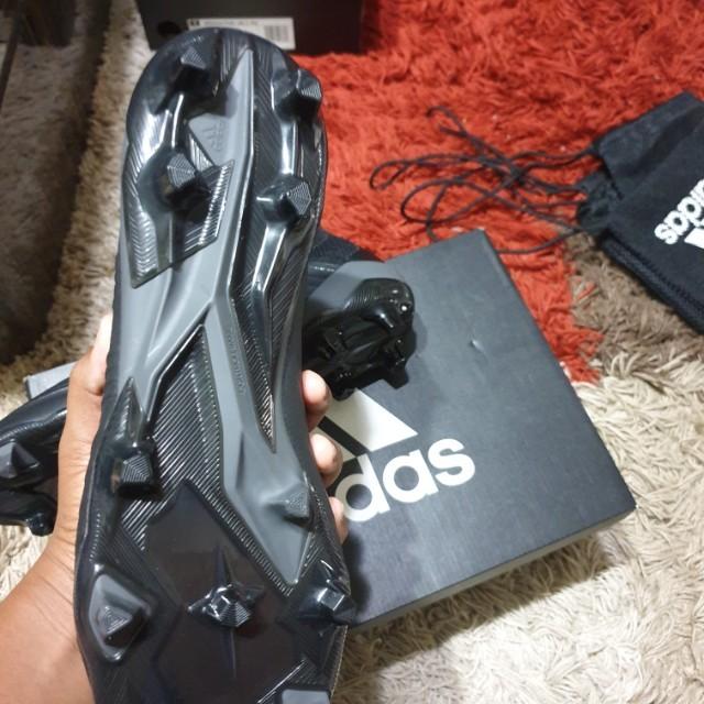 277ce19e27ac Predator 18.1 FG NIGHT CRAWLER / CORE BLACK football boots, Men's ...