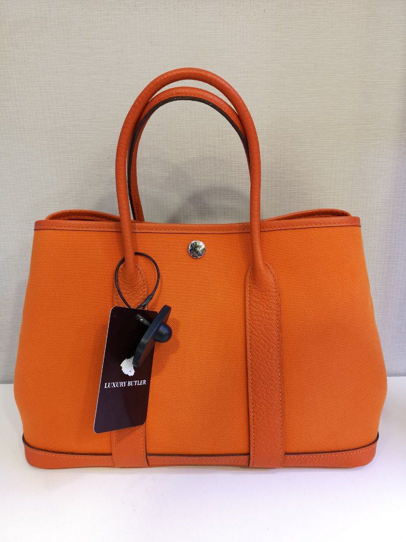 4ad59a2393 Preloved Authentic Hermes Garden Party