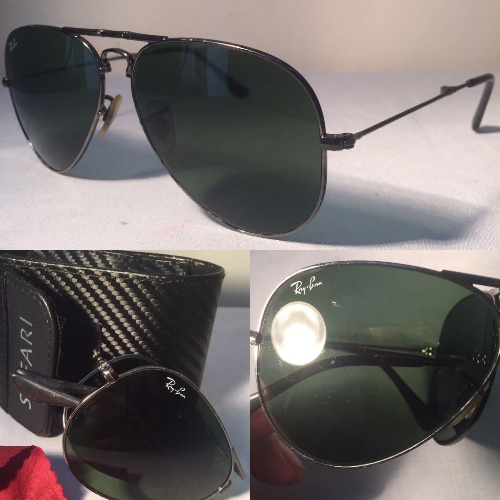 425670ea6e RB3479 Ray Ban Folding Sunglasses 58  14 Aviator Gunmetal   Crystal ...