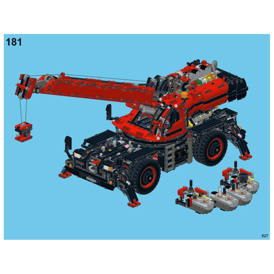 Rc Pack For Lego Technic 42082 Ultimate 42082 Rc Motorization Mod