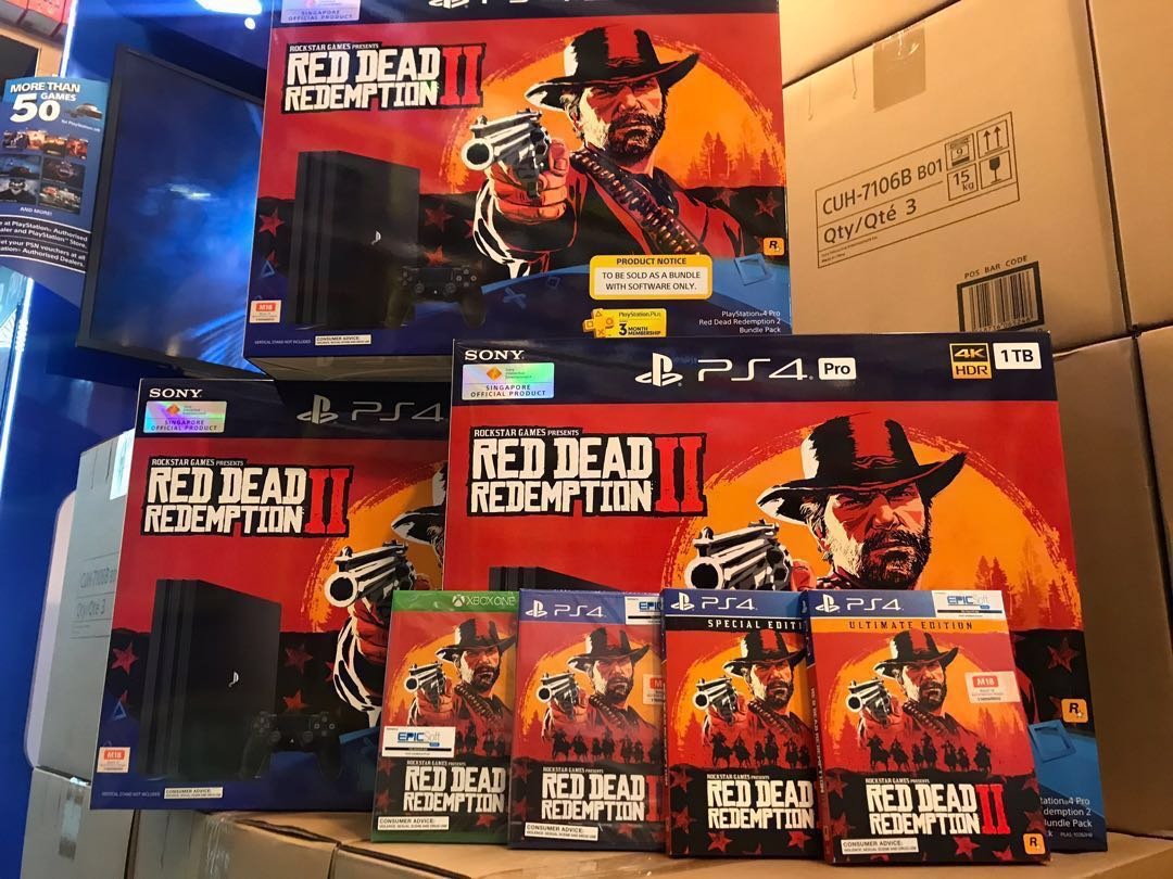 Red Dead Redemption 2, Toys & Games, Video Gaming, Video