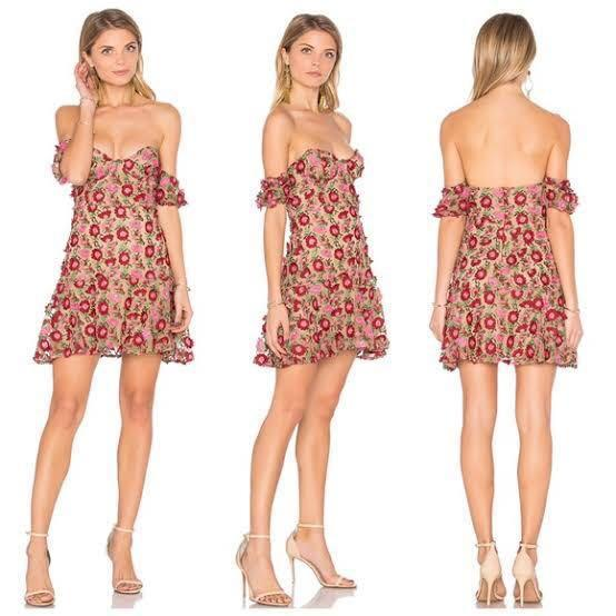 REDUCED* For Love and Lemons Amelia Strapless Dress