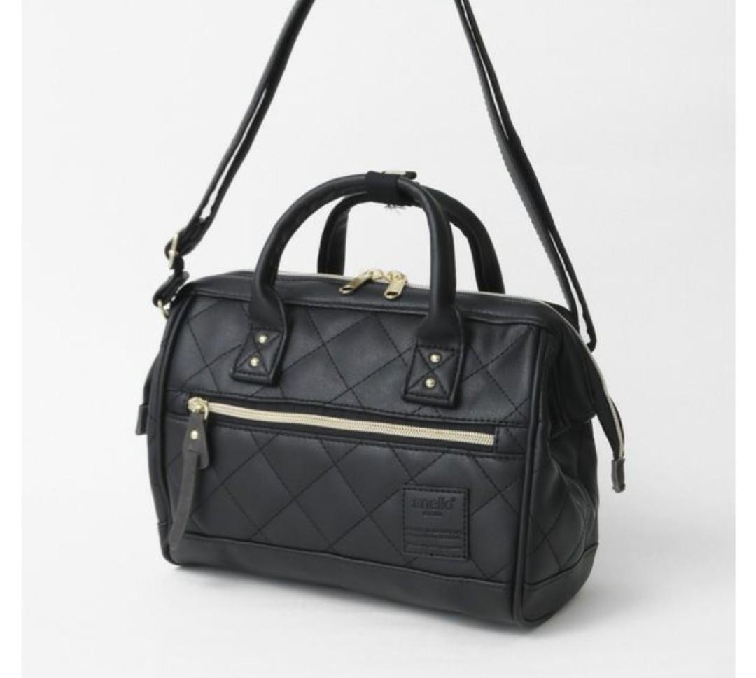 43627dc309 Re-Stock] Japan Anello PU Leather 2 Way Boston Sling Bag~ Original ...