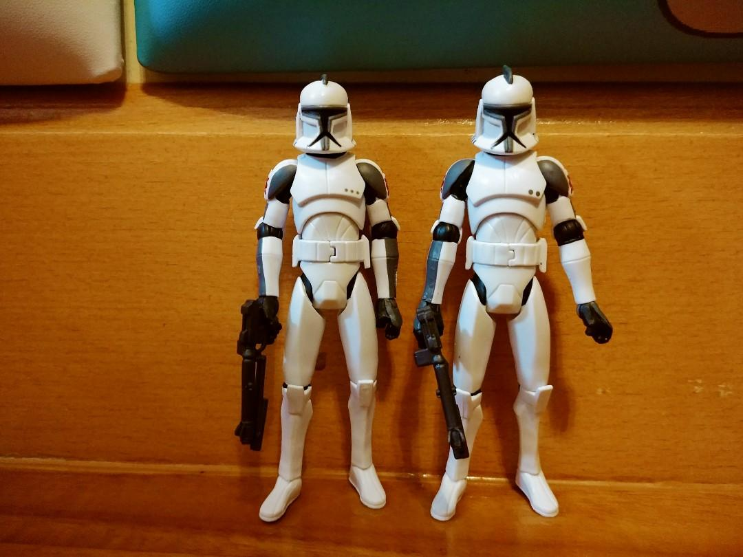 Star Wars 3.75 Clone War Clone Trooper set