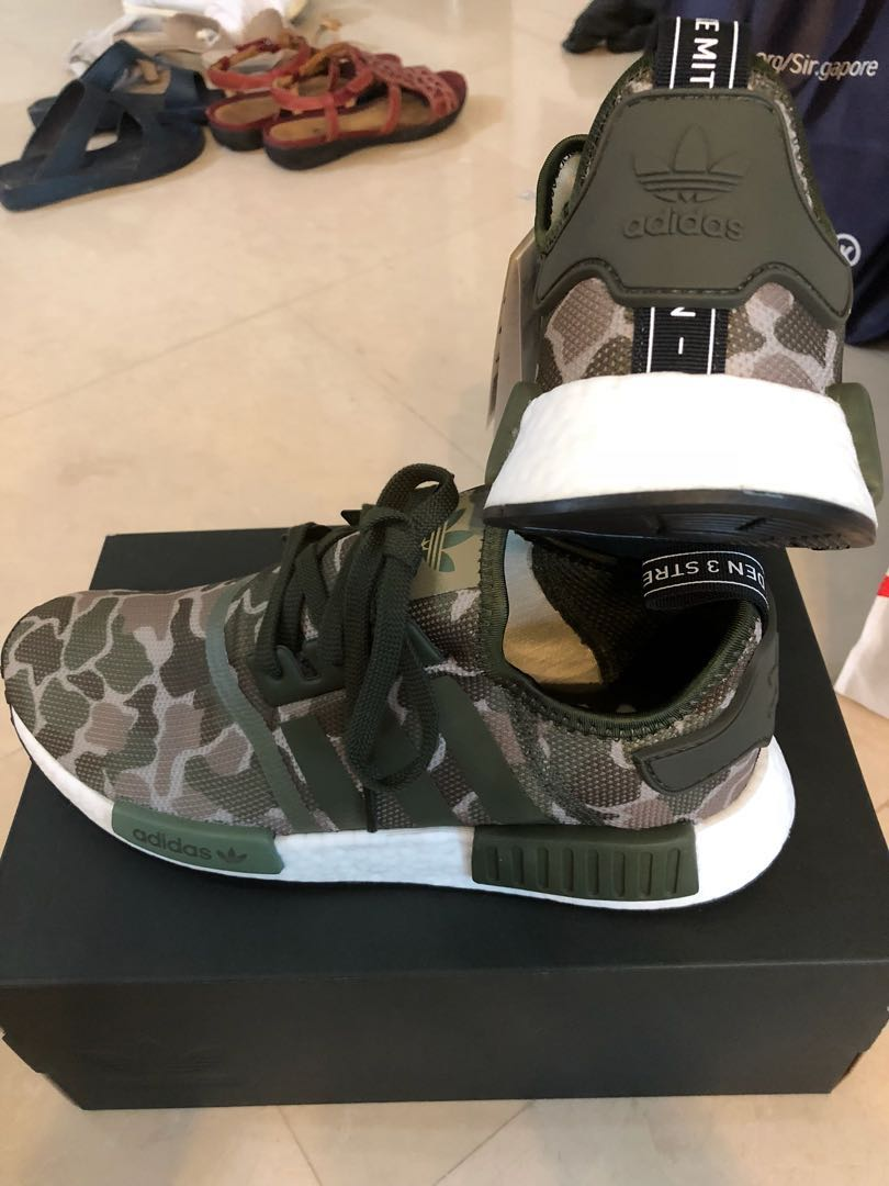 c727ce951 STEAL  Adidas NMD R1 duck camo sesame (Trace cargo