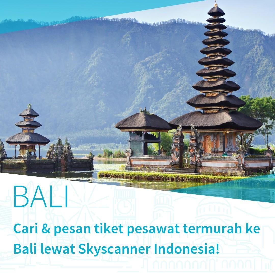 Tiket Pesawat Pp Murah Ke Bali Travel Flights On Carousell