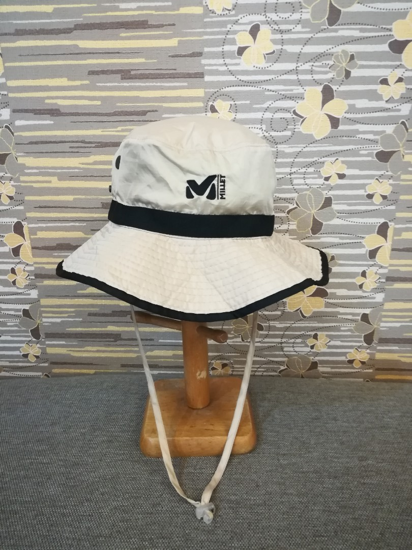 95a2a8c51d6e43 Topi Hiking Millet, Men's Fashion, Accessories, Caps & Hats on Carousell