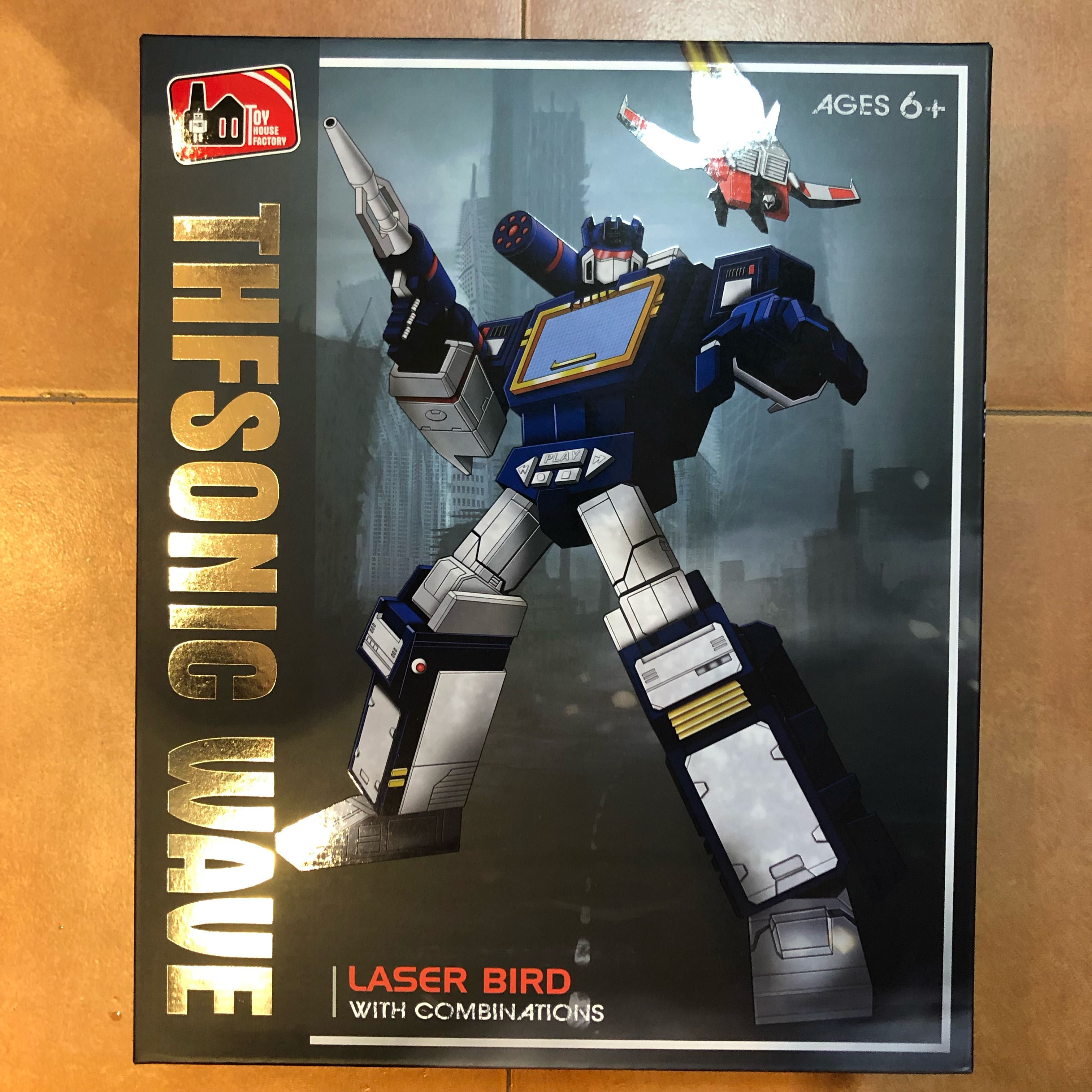 Transformers Toy House Factory - THF THF-01 Sonic Wave (aka Soundwave)  (MISB)