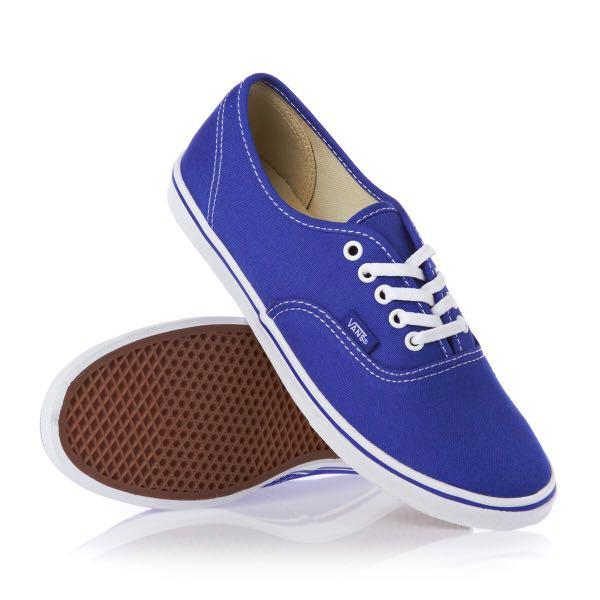 Vans Authentic Lo Pro Canvas Shoes - Dazzling Blue -Unisex M 5.0 F 6.5 (US Size)