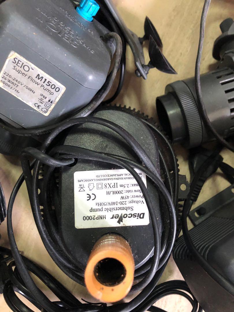 Wave maker n power head, Pet Supplies, For Fish, Fish Tank