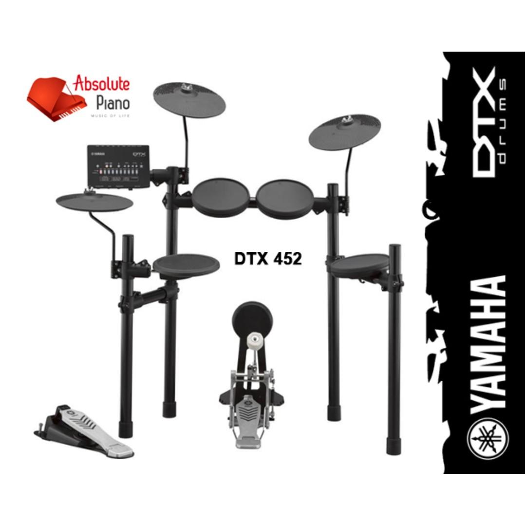 COMBO FAIR 2019: Yamaha DTX 452K Digital Drum - New Model