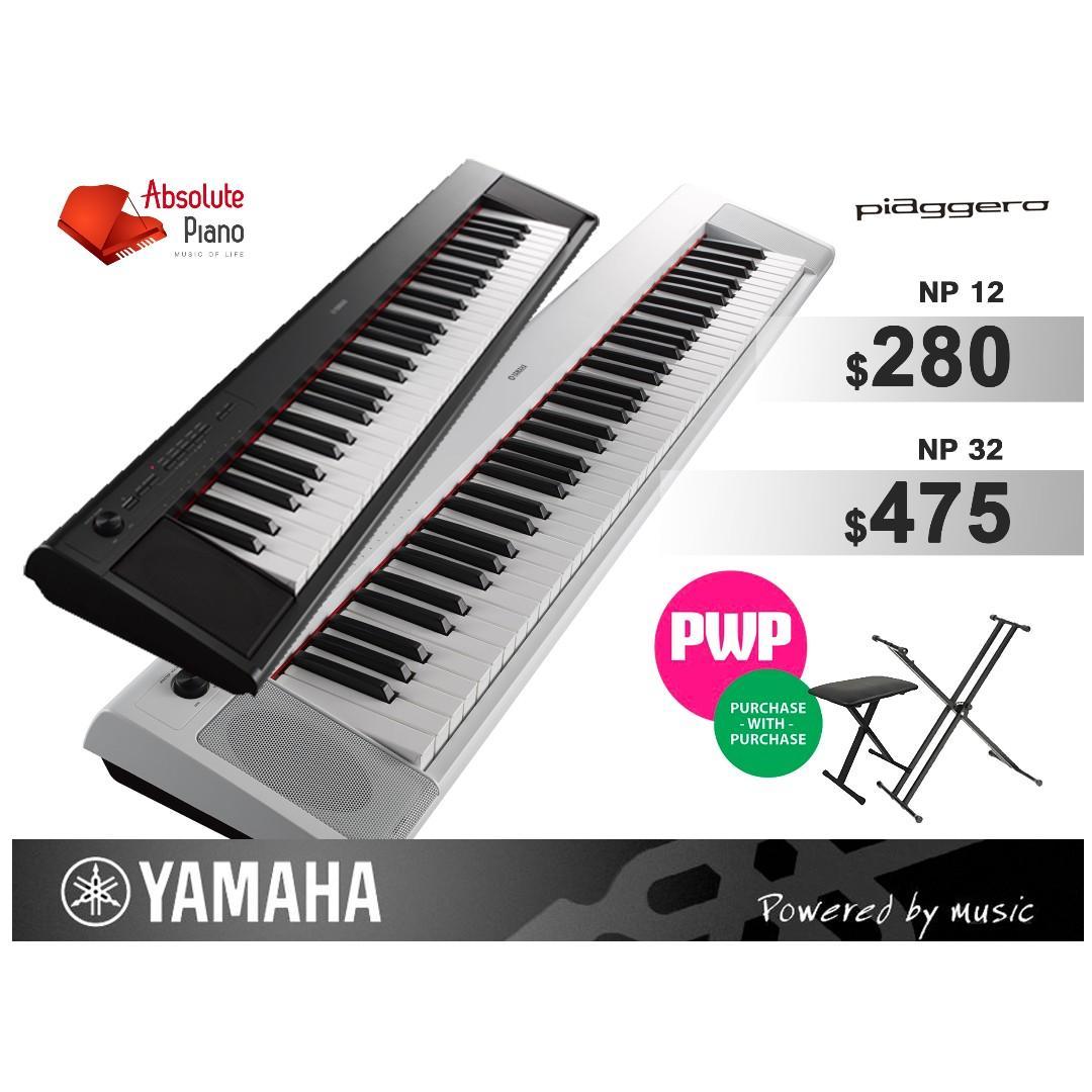 Yamaha Piano Fair @ Viva Business Park! YAMAHA Piaggero Keyboard: NP-12