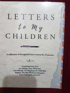 LETTERS FOR MY CHILDREN