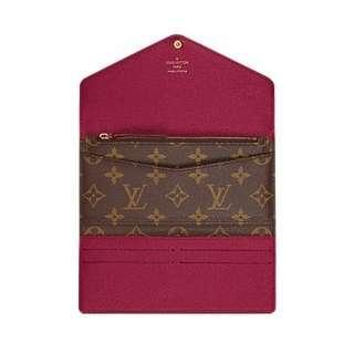Louis Vuitton Wallet - Josephine LV Monogram 100% original